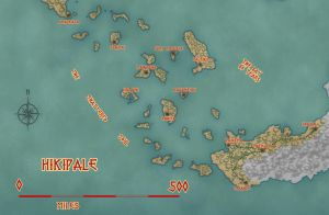 Aina - South Hikipale Map by KungFuAmadeus
