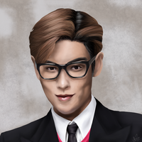 T.O.P portrait by KoriNeko18