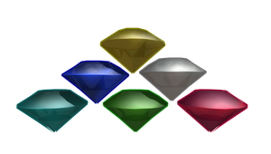 MMD 7 Chaos Emeralds + DL by McChipy