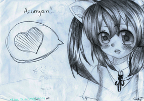 AT: Azunyan by Cows-on-steroids