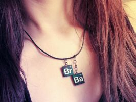 :Breaking Bad Inspired Necklace: by candymax