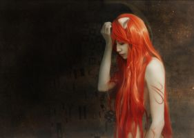 Cosplay Elfen Lied by Crimson-Shad