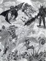 The war of the elemental blades by draks