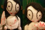 Jeff the killer Plushie by m-sharlotte