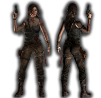 TOMBRAIDER Lara render by ViCt0RXD