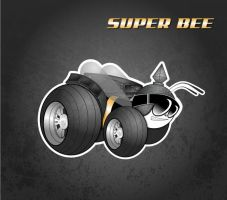Super Bee logo Revamped by mystiquememories