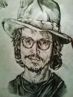 Johnny Depp by Panicatthedisco7