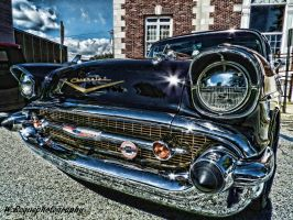 chevy belair by wroquephotography