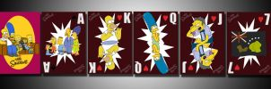 Simpsons Playing Cards by Sch-a-nelle