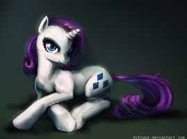 My Name is Rarity by 9ofcups