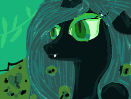 Queen Chrysalis by Shivery-Ao