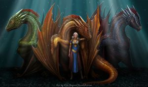 Mother of Dragons by Kira-Bagirova