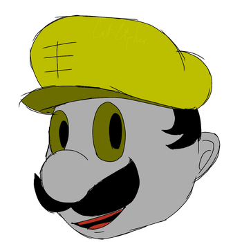 Daily Sketch #144 - Mario Fighter III by Cat-Cipher