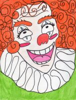 Happy Clown by Quecksilber0