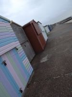 Beach huts. by maybe-is-everything