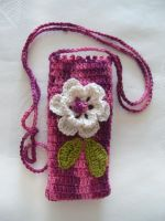 Case for phone by eva-crochet