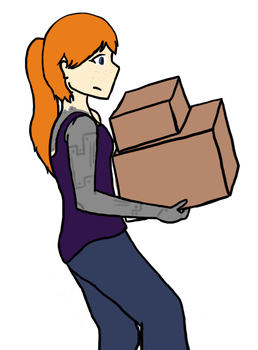 Unpacking by CarolineClaire