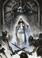 ARAWN Issue 5  Cover by sebastien-grenier