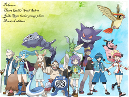 ???- Gym leader photo Johto by blasteg