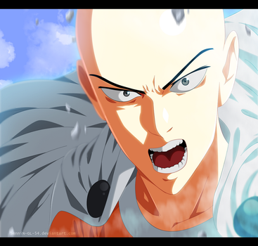 one punch man - chapter 62 - Saitama by SenniN-GL-54