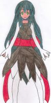 My ToS OC-Terresia (3rd Drawing) by Pana-sule