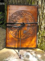 Goddess: Leather book by Toxicintensity