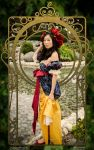 Art Nouveau Snow White by cindyrellacosplay