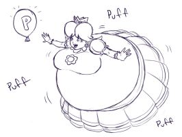 daisy puffed by shydude