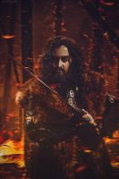 Thorin  Oakenshield: Fire by Eternal-Jesus