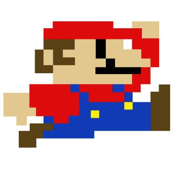 Super Mario Pixel Art by SullyVanCraft
