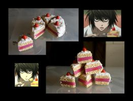 L. Cake charm - FOR SALE by LaurenW24