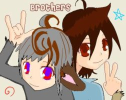 Brothers by CaliforniaSigma