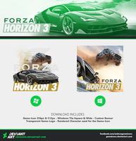 Forza Horizon 3 - Icon by Crussong