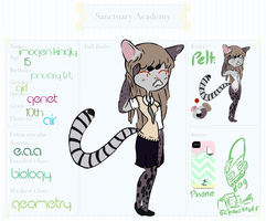 Imogen || Sanctuary Academy by aerophyte