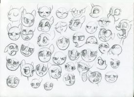 MLP - Expression studies 2 by Ihmislehma