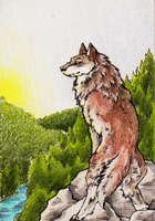 ACEO: July by ElysianImagery