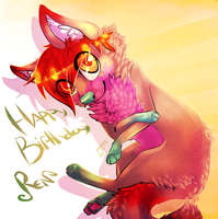 Happy Birthday .:Ren:. by Faustina13