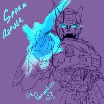 TF - Prowl Reaver of Sparks by plantman-exe