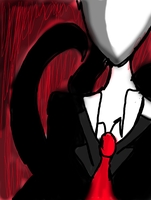 Slender man by xX-loveXx