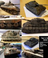 Repaint Tiger2 by buster126