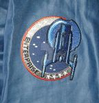 Enterprise jumpsuit patch closeup by The-Rubber-Pineapple