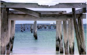 Old Jetty colour by AdamsWife
