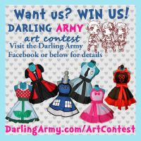 Darling Army Art Contest by DarlingArmy
