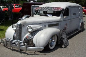 One BAD Hearse by indigohippie
