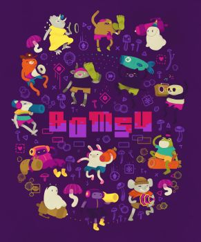 Bomsy Poster by spicyroll