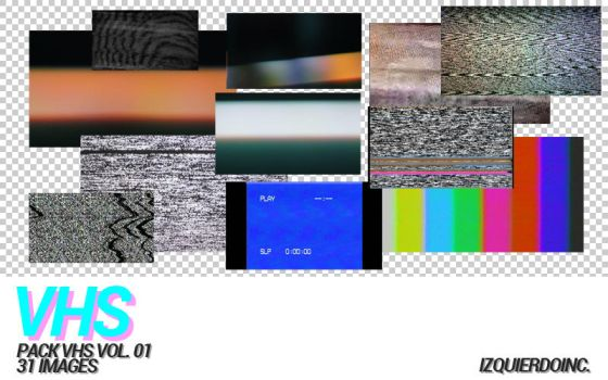 Pack VHS Vol 01 by xPEGASVS