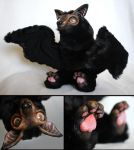Starchild the Baby Flying Fox Art Doll by LuxDani