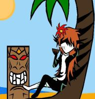 Midna at the Beach by Master3Foamy