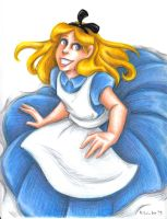 Alice by msciuto