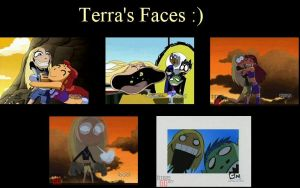 Terra's funny faces by FirstChairwoman